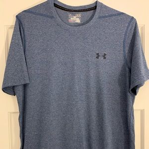 UNDER ARMOUR BLUE THREADBORNE SHIRT